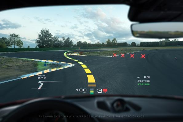 Holographic head-up display brings augmented reality into