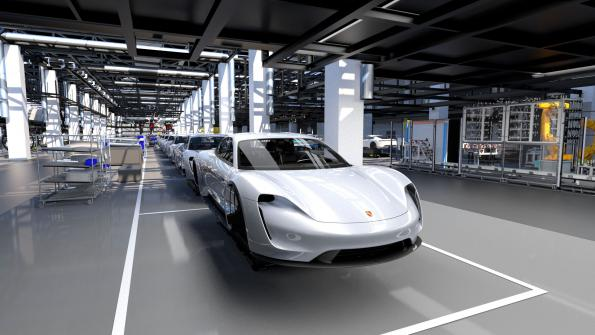 Porsche goes to the starting blocks for the electric age