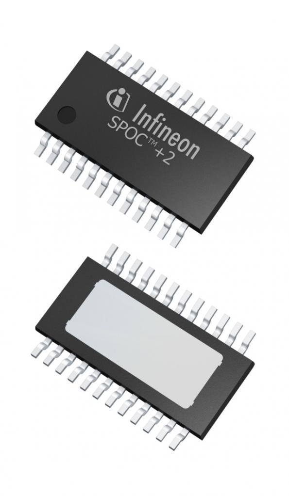 Infineon rétrécit les commutateurs automobile et double l'ampèrage