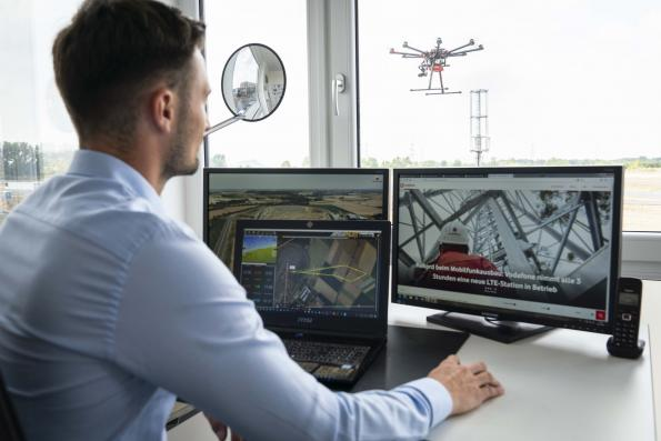 Vodafone and EASA working together on airport protection from drones
