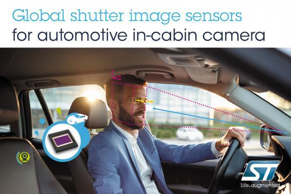 New image sensors improve automotive occupant monitoring