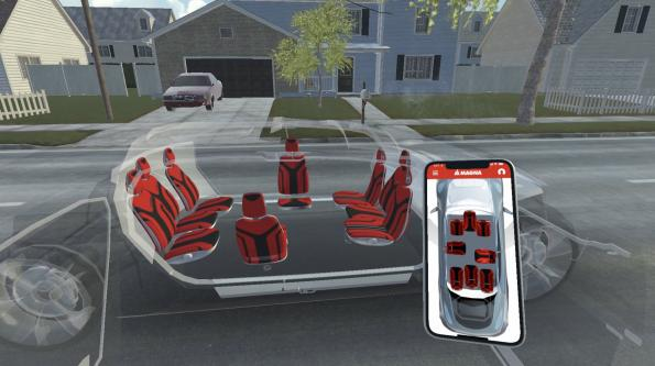 Interior system can be adapted to vehicle use cases