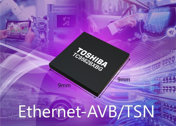 Ethernet bridge IC supports latest specifications