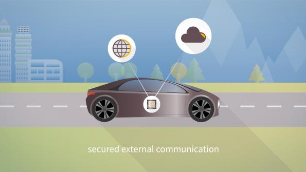 Volkswagen secures vehicle communication with Infineon chip