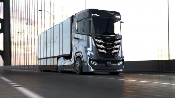 Nikola plans to offer battery-operated semitrucks along with hydrogen vehicles
