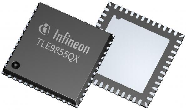 Embedded Power chips replace relays in automotive applications