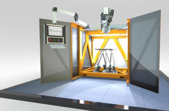 3D printing system produces plastic parts 8 times faster