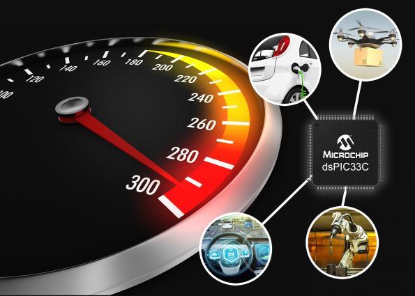 Microchip expands memory for automotive DSCs