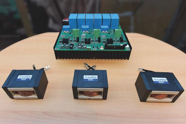 Smaller, lighter power converters with SiC