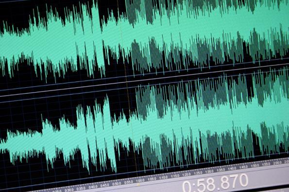 Audio rises for event detection