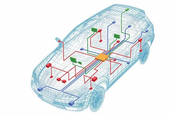 Smart fuse reduces cost, weight of automotive wiring harness