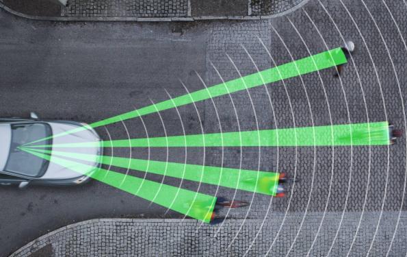 Terahertz beams to complement sensors for autonomous cars