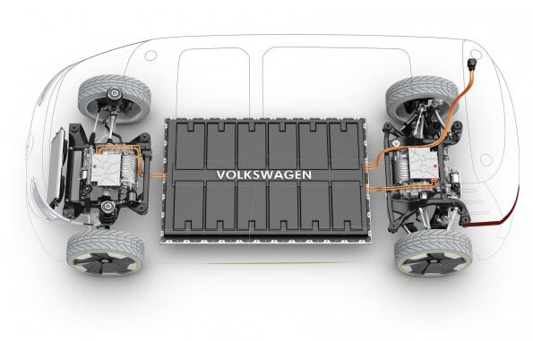 Volkswagen increases R&D spending for electromobility