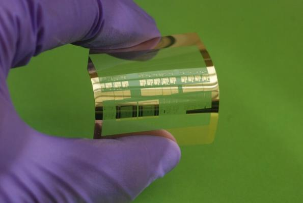 Roll-to-roll flexible electronics to hit 100GHz?
