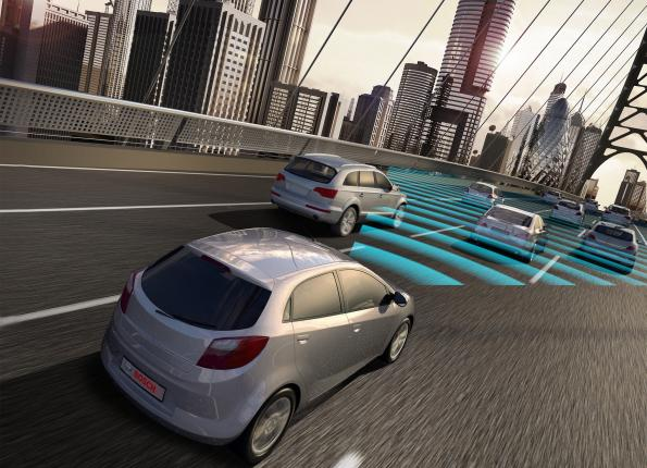 Bosch highlights radar technology for safety-relevant driver assistant systems