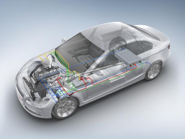 Innovation in the car: 90% comes from electronics and software