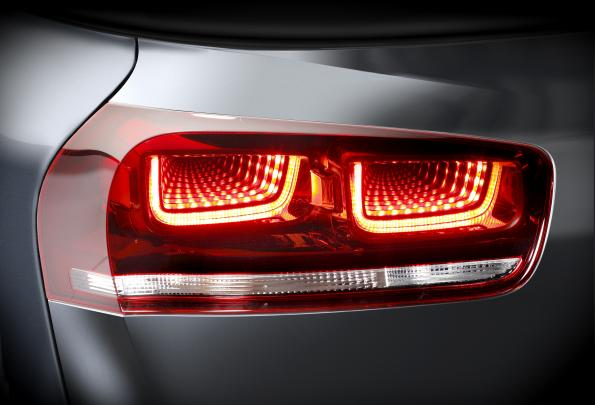 Picasso Gets Quot Tunnel Quot Optics For Led Tail Light Eenews