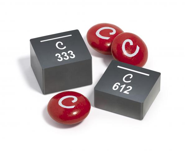 Magnetically shielded power inductors: high inductance and high Isat