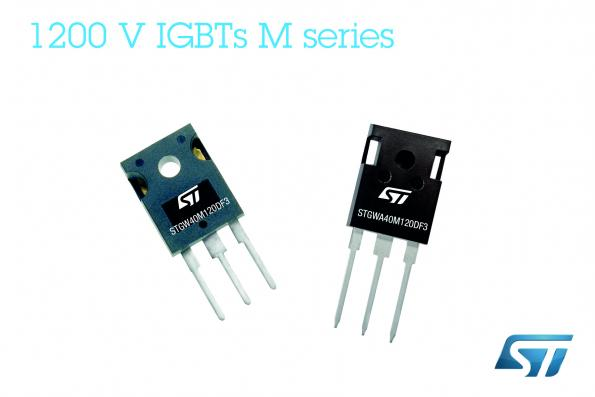 1200V IGBTs raise efficiency and ruggedness for solar and industrial power
