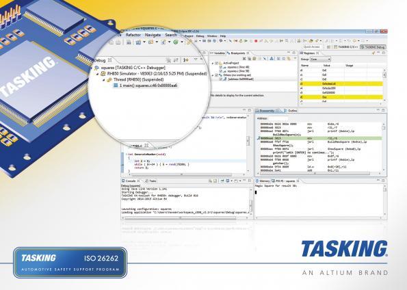 Altium offers automotive designers a Tasking C compiler update for