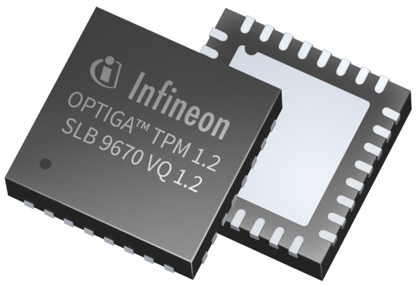 "Infineon claims a certification ""first"" for its OPTIGA TPM Security Controller"