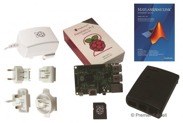 Distributor bundles Raspberry Pi with Matlab/Simulink