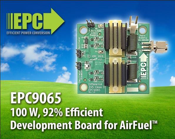 100W GaN FET development board for AirFuel wireless power standard