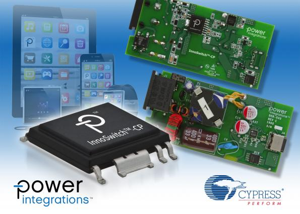 Power Integrations/Cypress USB-PD fast chargers reference design