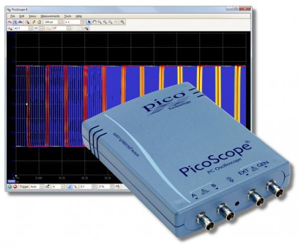 USB oscilloscopes operate from 60 to 200 MHz at 500 MS/s