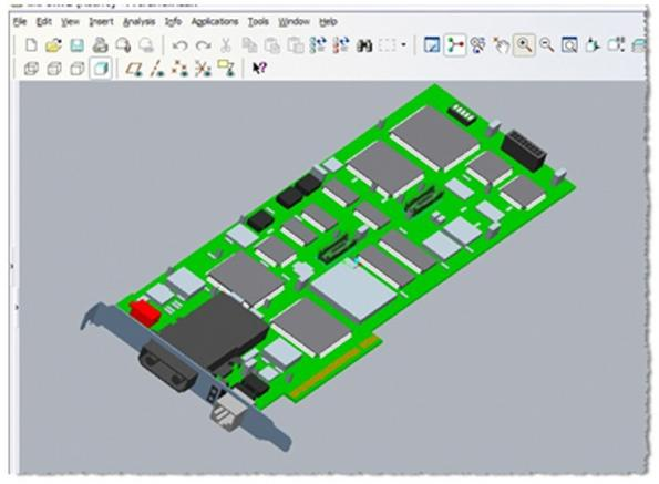 PCB converter module for Google SketchUp provides 3D eCAD tools