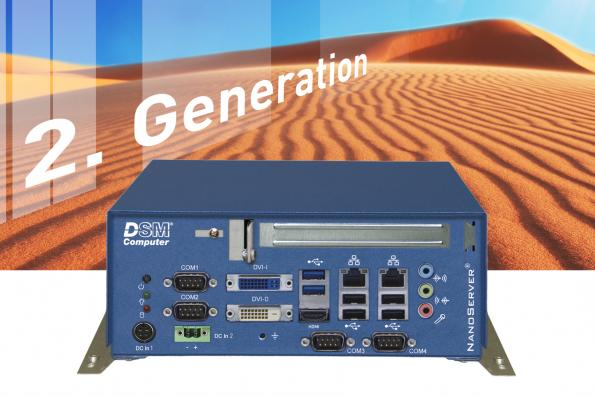 Compact second-generation NanoServer for embedded media applications