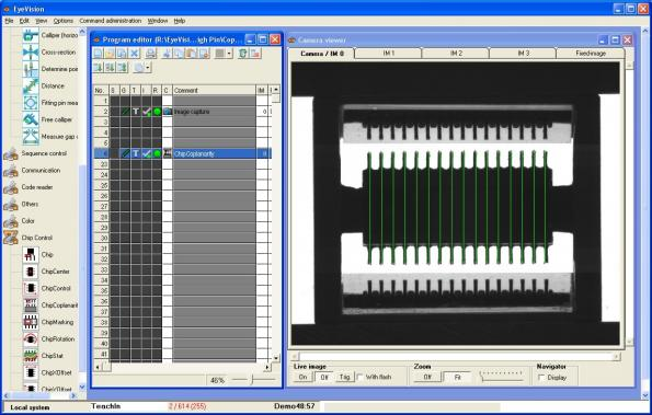 Coplanarity check for electronic components
