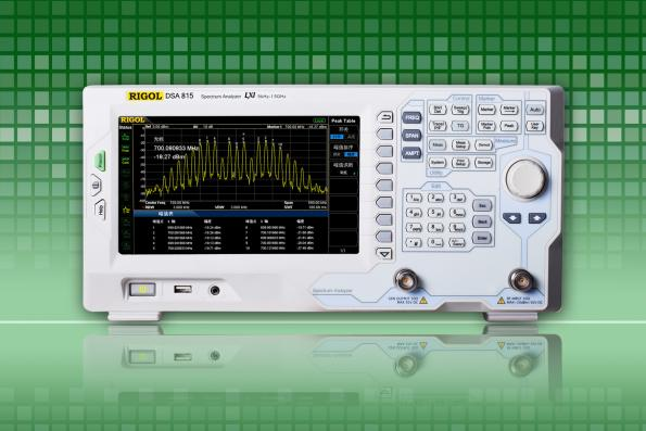 Light weight economic spectrum analyzers in the 9 kHz to 1.5 GHz frequency range