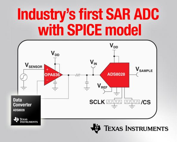 SAR ADC with SPICE model claims industry first