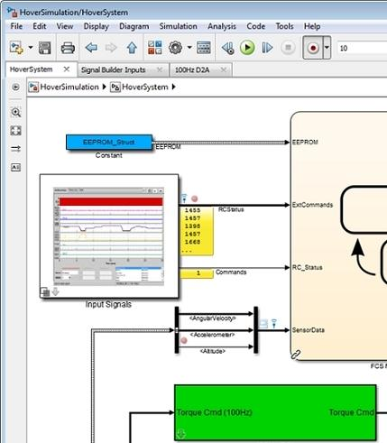 New Simulink Editor and features for MATLAB desktop