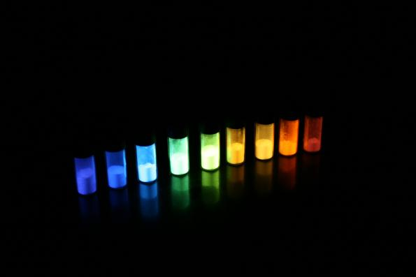 Solution-processed OLEDs printing enables virtually any color