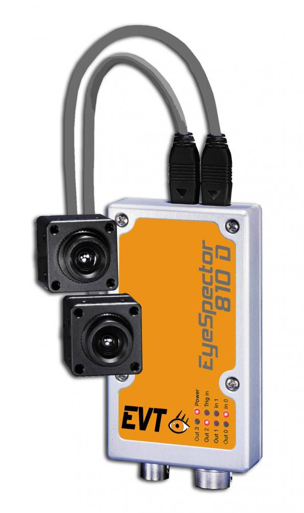Dual head smart camera fit for pattern matching, object detection or