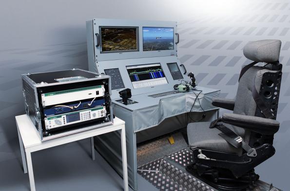 Scenario-based RF signal generator for interactive radio frequency testing environments
