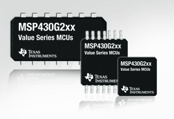 Larger memory, more GPIOs for TI's MSP430 MCUs