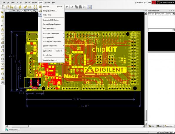 Free Download Pcb Design Package Updated New Features In Designspark Pcb Version 5 0