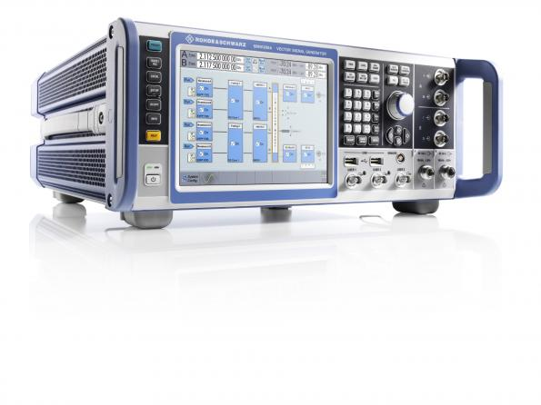 Multi-channel, multi-standard signals to 6 GHz from R&S