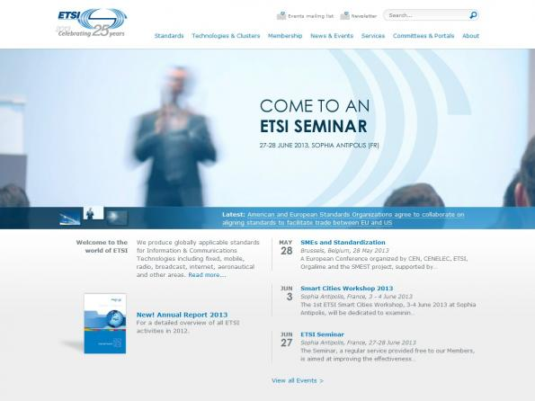 ETSI publishes first specification for Ultra Low Energy DECT aimed at the M2M market