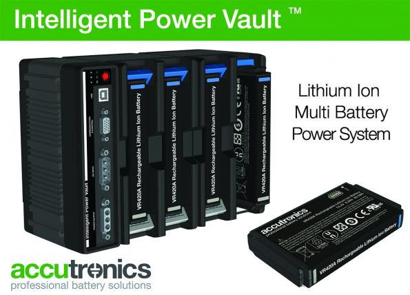 High energy lithium ion solution offers hot swap functionality