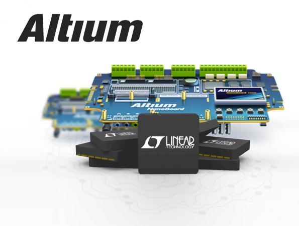 PCB design libraries for Linear Technology have Altium 3D