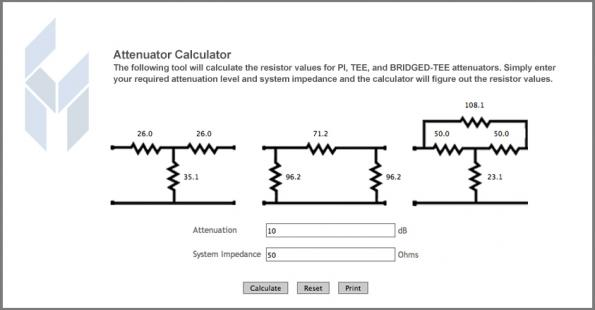 Resistor color code calculator.