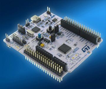 STM32-based Nucleo development boards compatible with Arduino
