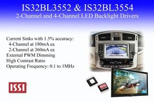 Multi-string LED drivers brighten in-vehicle infotainment