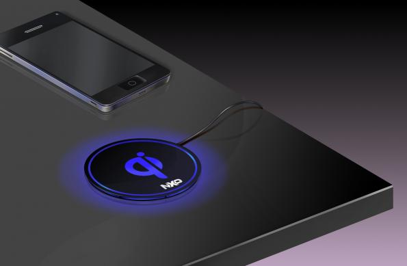 Compact 5-V Qi wireless charger offers design freedom