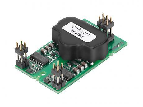 IGBT driver cores implement short-circuit soft shutdown