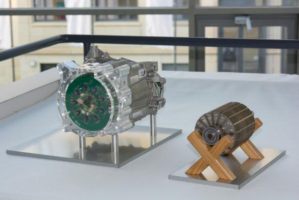 Smaller, lighter, more efficient electric motor prototype disclosed
